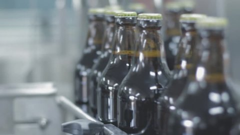 beer bottles factory