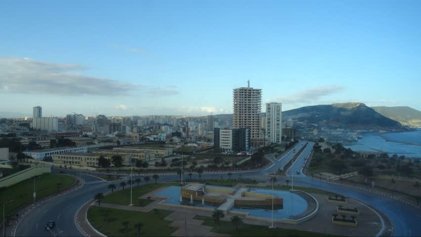 Oran, Algeria, day timelapse