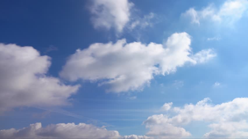 Clouds and Blue Sky, Time Lapse | Shutterstock HD Video #26553569