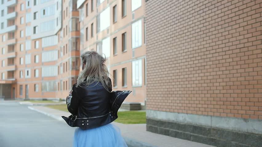 Girl blowing bubbles in slow motion | Shutterstock HD Video #26636617