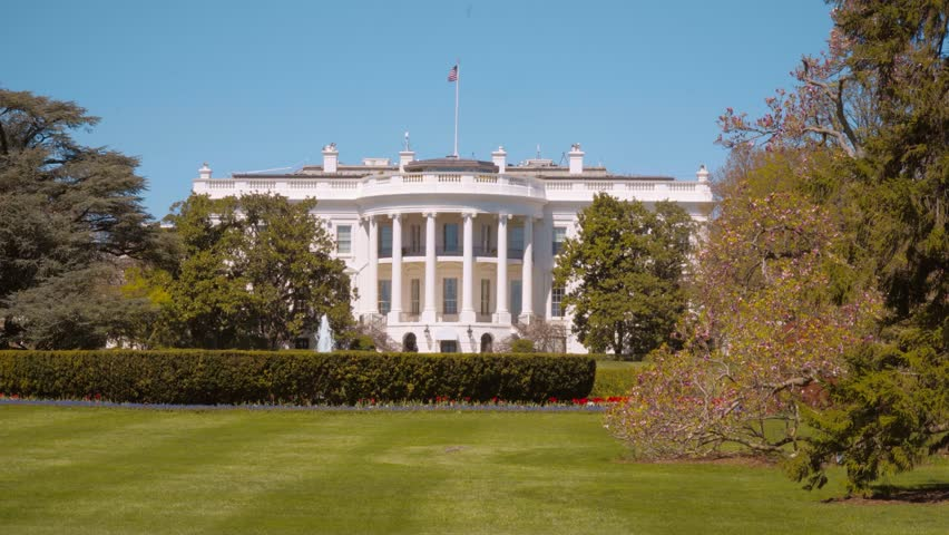 The White House in Washington - Oval Office