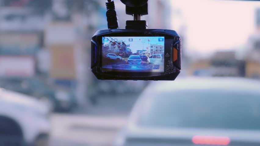 Front camera car recorder | Shutterstock HD Video #26673184