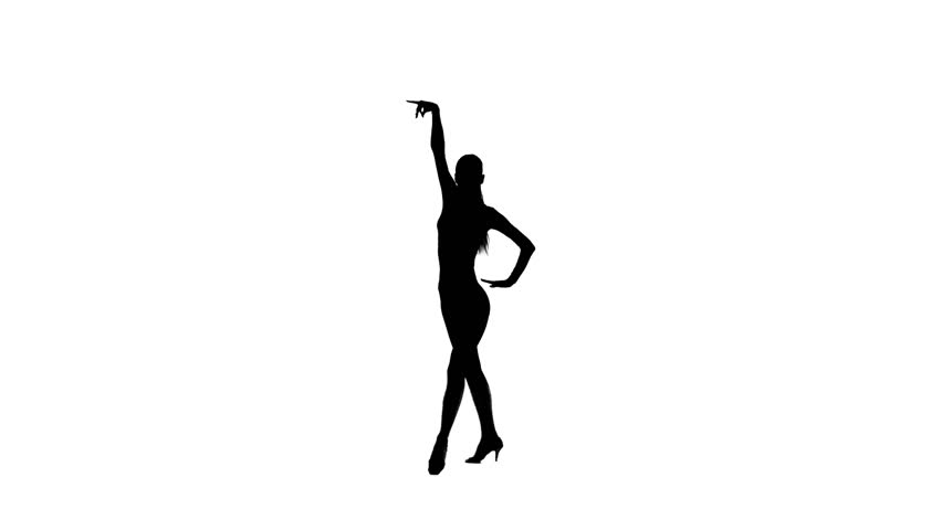 Elegant Female Dancer Performing Salsa Stock Footage Video 100 Royalty Free 26701897 Shutterstock
