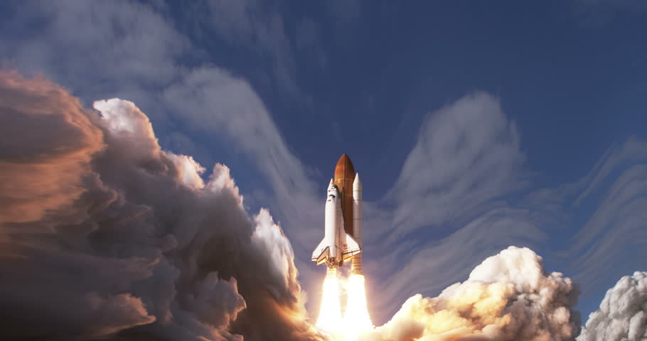 Space Shuttle Launch Animation, 4K some elements furnished by NASA images  | Shutterstock HD Video #26702800