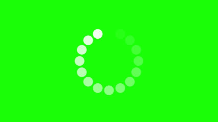 Progress loading bar UI indicator. Loading Circle. Download progress, preloader animation web design template, interface upload. Animation of UI element in 4K. Chroma key green screen. | Shutterstock HD Video #26725003