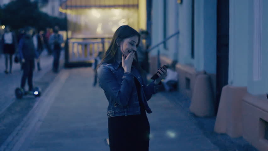 Girl with phone in hands | Shutterstock HD Video #26744218