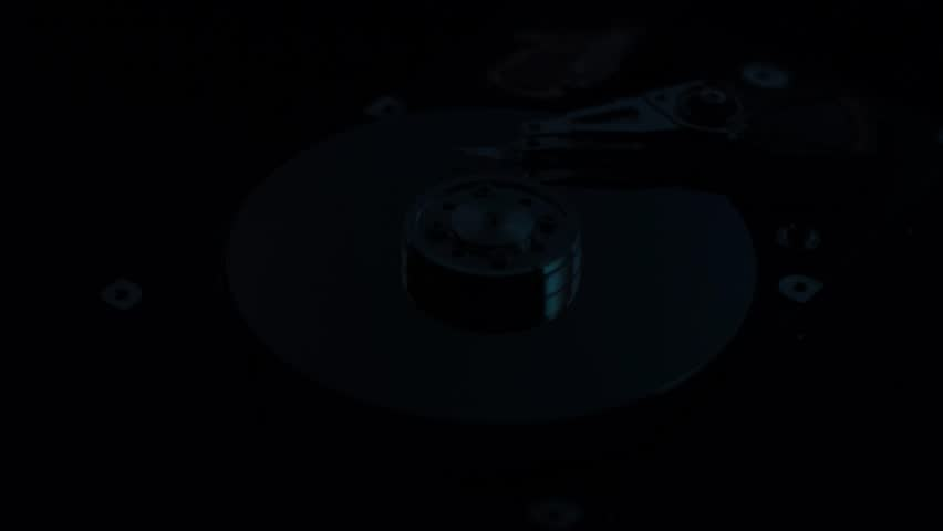 Hard disk drive with gradients reflection | Shutterstock HD Video #26804998