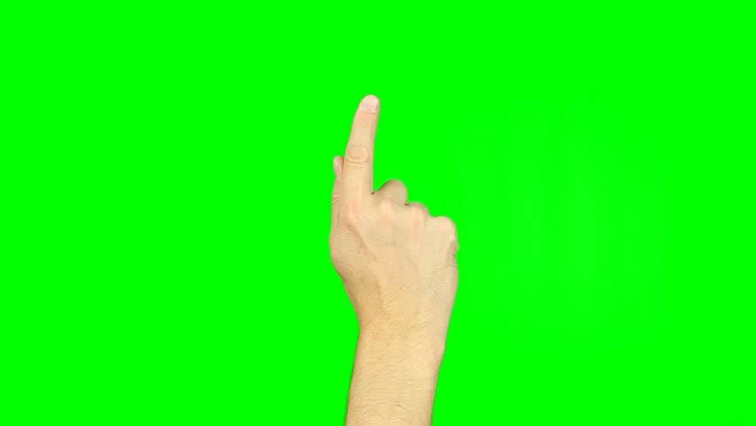 Drawing smile sign with finger gestures on green screen. Gestures on touch pad touchscreen tablet smartphone kinetics gadget. Footage contains solid green instead alpha channel for easy keying.   Shutterstock HD Video #26810944