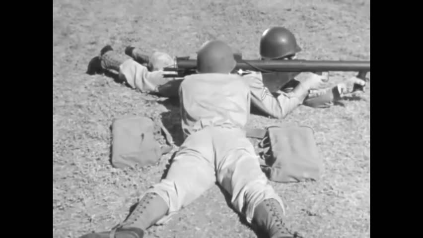 1940s: The bazooka is developed for the battlefield in World War Two.