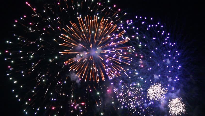 Fireworks display | Shutterstock HD Video #2687843