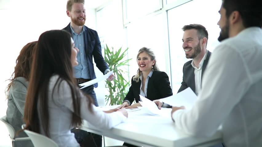Succesful enterprenours and business people | Shutterstock HD Video #26879743