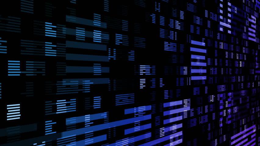 Digital world data space number dot.   Shutterstock HD Video #26903506