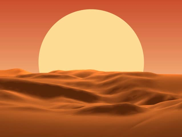 Sunset in desert | Shutterstock HD Video #26941