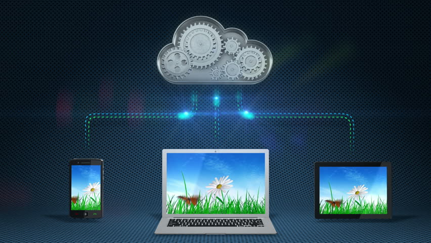 Cloud computing concept | Shutterstock HD Video #2696486