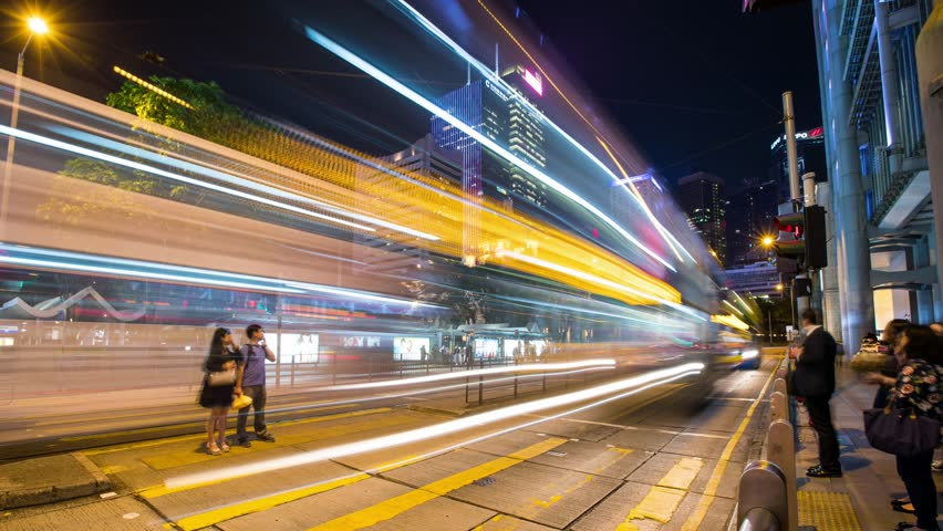 Central, Hong Kong,18 May 2017 -: Times lapse of City in Hong Kong at night  | Shutterstock HD Video #26994529