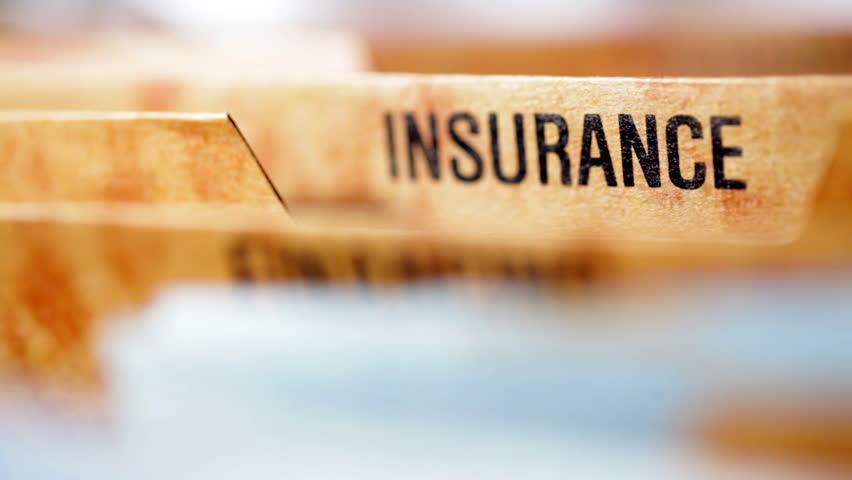 Insurance file | Shutterstock HD Video #2701280