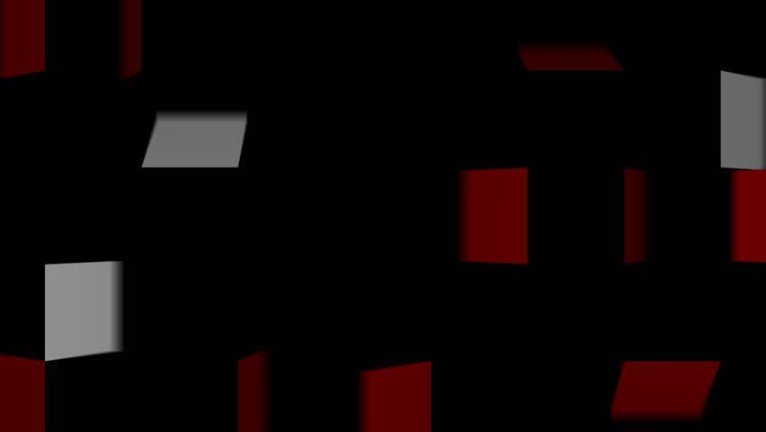 Folding square stripe transition red white   Shutterstock HD Video #27031828