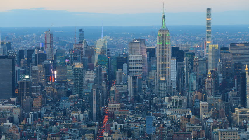 4K UltraHD Day to night timelapse of lower Manhattan | Shutterstock HD Video #27061804