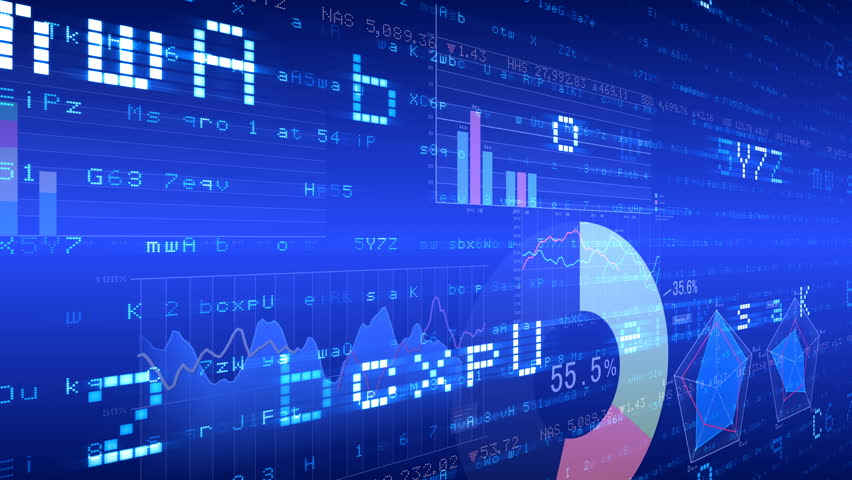 Business data graph digital world space number text. | Shutterstock HD Video #27086404