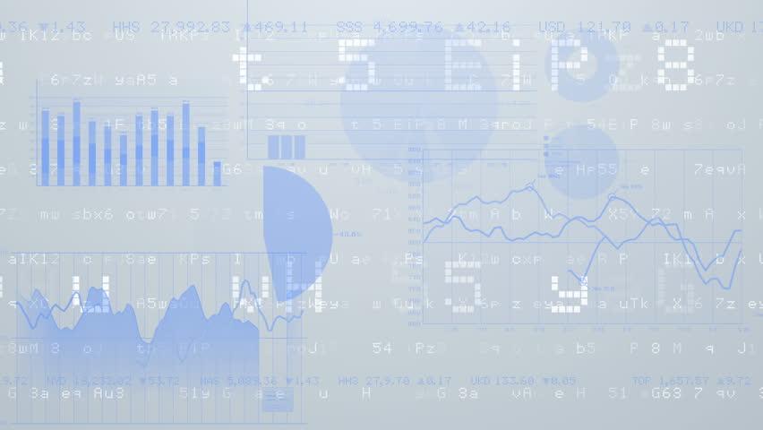 Business data graph digital world space number text. | Shutterstock HD Video #27086449