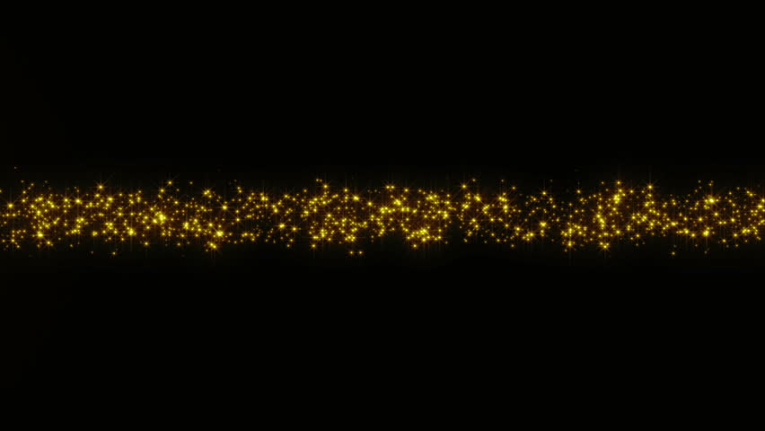 [Lower Third]Gold particles intersecting in the center | Shutterstock HD Video #27103990