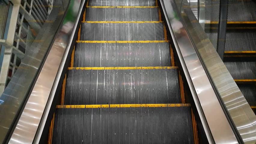 The escalator in department store | Shutterstock HD Video #27145279