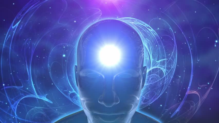 Person in Lotus Yoga pose Achieving Nirvana or Enlightenment or Awakening | Unlocking 7 Seven Chakras Fractal Flame Universe | Self Realization Deep Meditation Yogic Abilities Powers Opening Third Eye