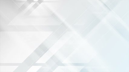 Light grey and blue tech geometric motion design. Video animation Ultra HD 4K 3840x2160