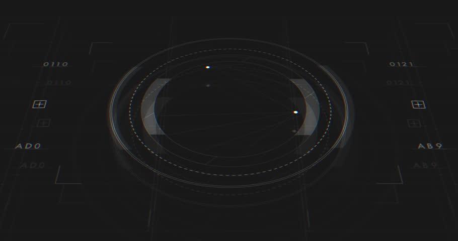 Abstract Digital Animation User Interface HUD | Shutterstock HD Video #27214987
