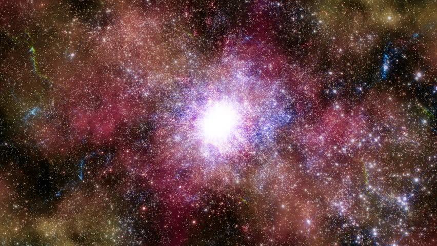 Space 2243: Traveling through star fields in deep space (Loop). | Shutterstock HD Video #27259984