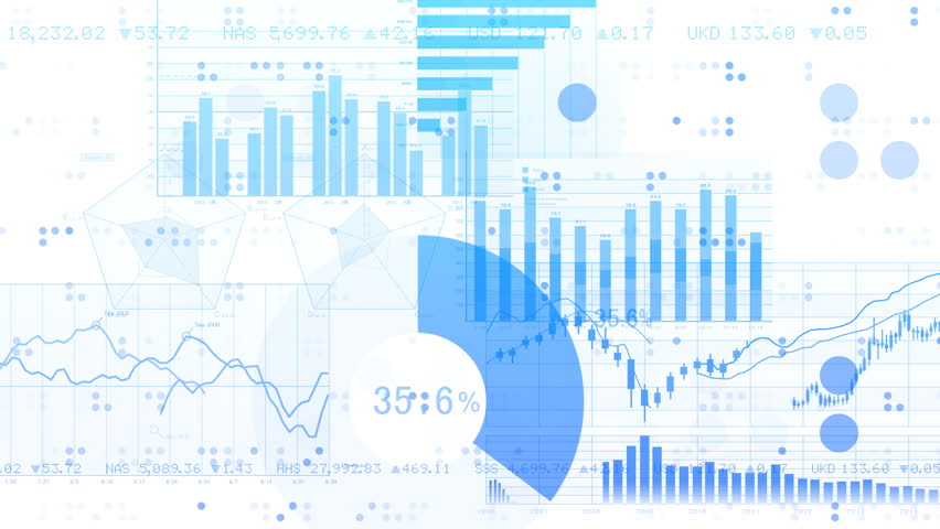 Business data graph digital world space number text background. Royalty-Free Stock Footage #27301396