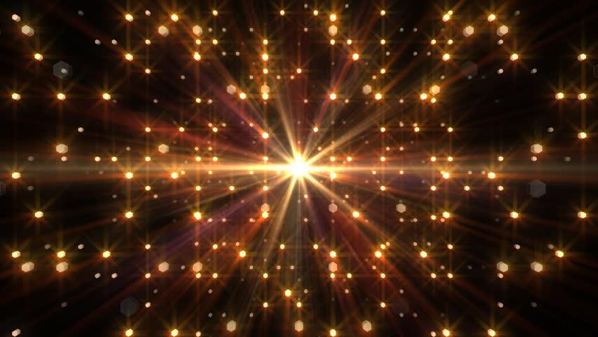 Sparkle Light E Stock Footage