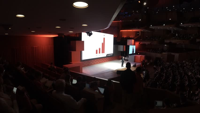 4K, Poland, Cracow, Krakow 31.05.2017 Impact 17 startup,Conference,Congress of technology. #27378325