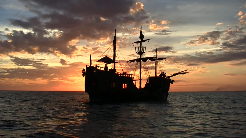 Pirates of the Caribbean Royalty-Free Stock Footage #27455044