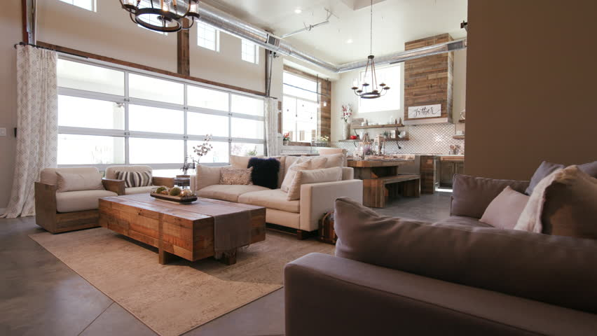 Modern Open Living Space With Video Stock A Tema 100 Royalty Free 27477541 Shutterstock