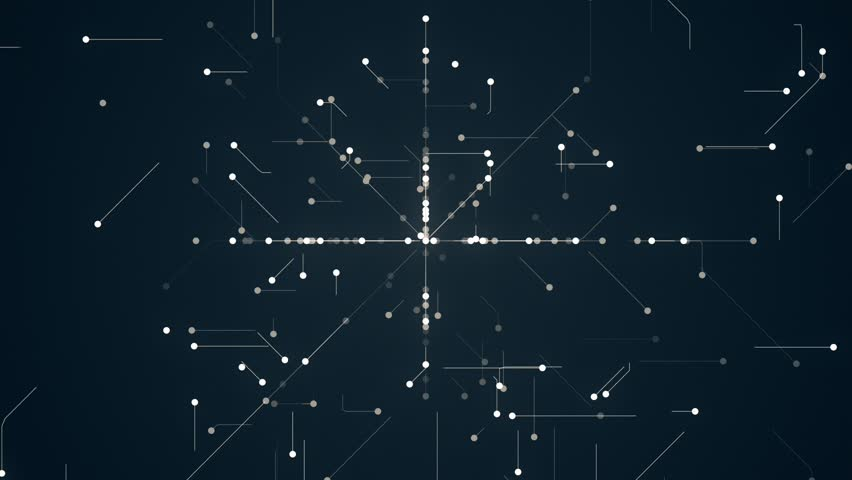 Abstract Network Background. This is abstract technological animation of futuristic grid. Perfect for any type of videos dealing with scientific festivals,  hi-tech projects, sci-fi movies. | Shutterstock HD Video #27478441