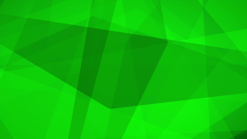 Beautiful abstract Triangles polygons Seamless looping Motion background 4K and Full HD Green | Shutterstock HD Video #27521791