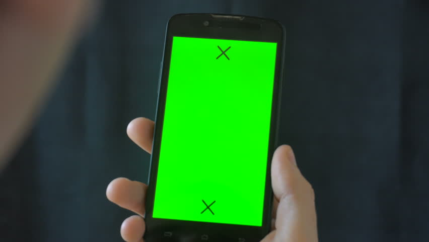 Close-up of male hands touching of smartphone.  | Shutterstock HD Video #27595903