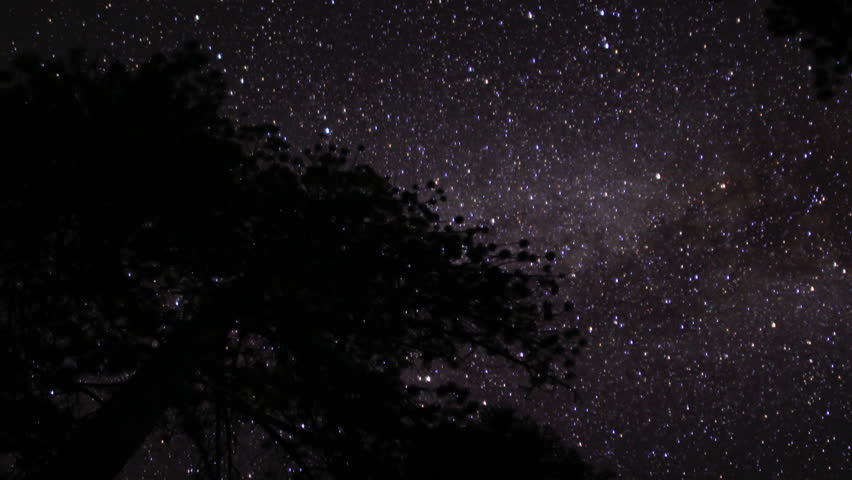 Lassen Timelapse Astrophoto 05 Milky Way Dolly R and Tilt Up | Shutterstock HD Video #2761772