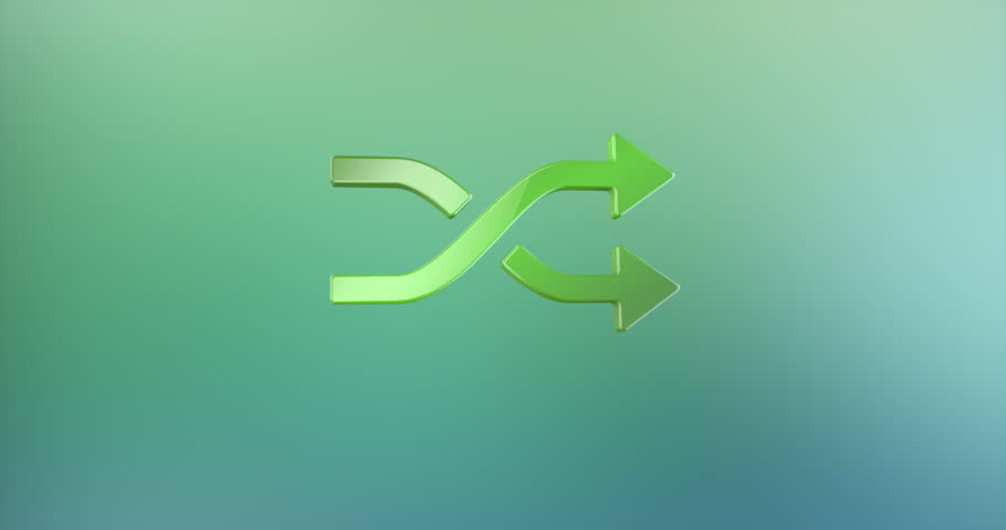 Animated Random Shuffle Color 3d Icon Loop Modules for edit with alpha matte   Shutterstock HD Video #27782728