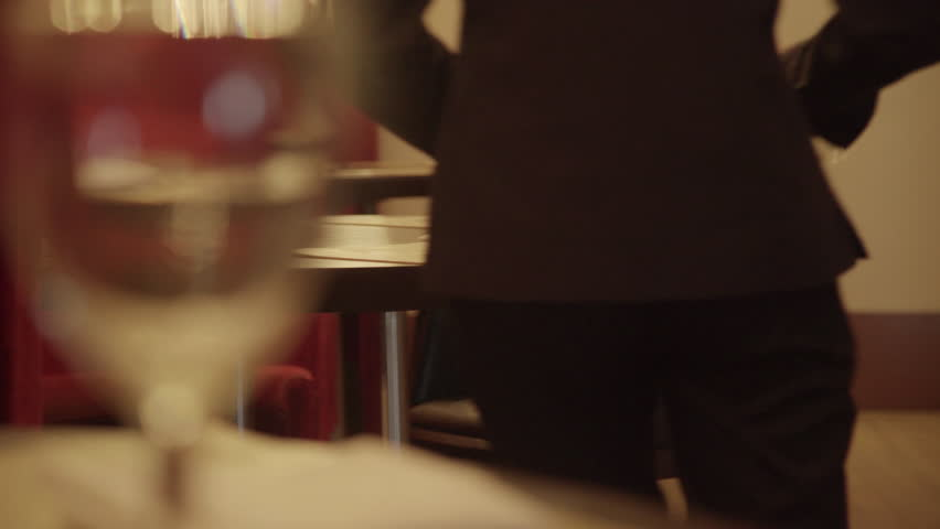 Waitress setting table | Shutterstock HD Video #27798268