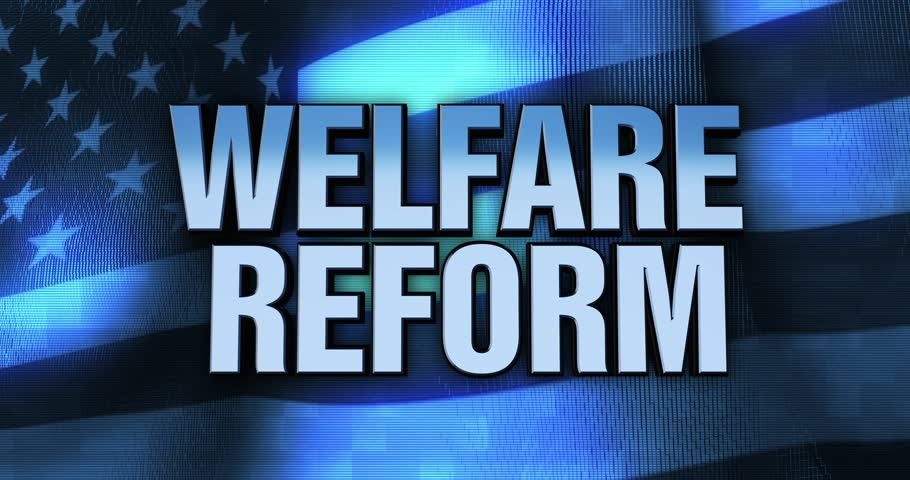 Ominous Political Statement Typography - Welfare Reform | Shutterstock HD Video #27813967