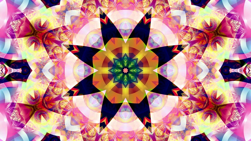 Red kaleidoscope sequence patterns. 4k Abstract multicolored motion graphics background. Or for yoga, clubs, shows, mandala, fractal animation. Beautiful bright ornament. Seamless loop. | Shutterstock HD Video #27826639