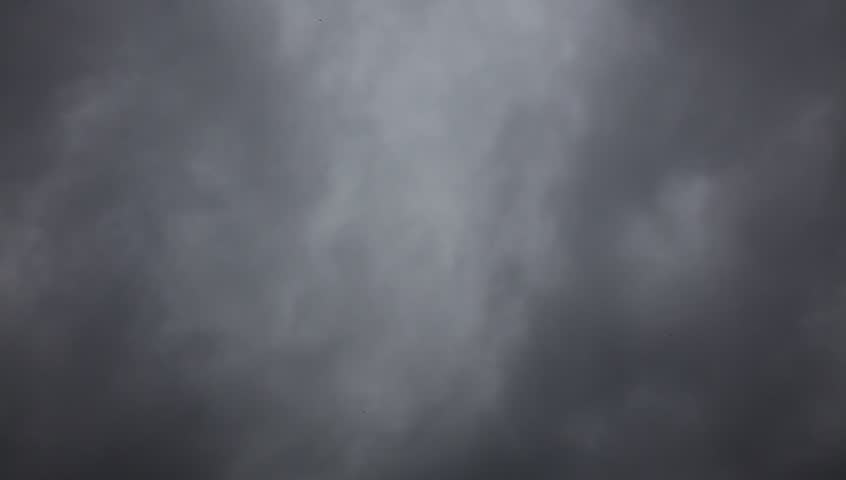 fast moving black clouds under strong wind before rain storm coming #2784808
