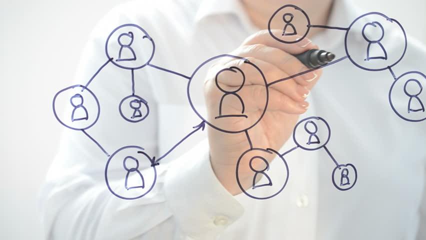 Social networks. | Shutterstock HD Video #27854233