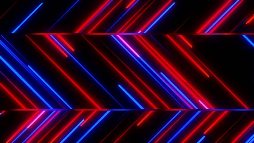 Metro Light Streaks Seamless Looping Motion Background Video Background Loop 4K Zig Zag Red Blue   Shutterstock HD Video #27906661