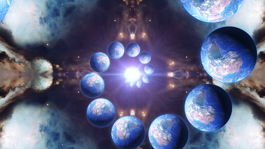 Mutiverse Theory Infinite Earths Being Generated Through a Mysterious Cosmic Light Source Alternate Timelines Mandela Effect Alternate Dimension Interdimensional