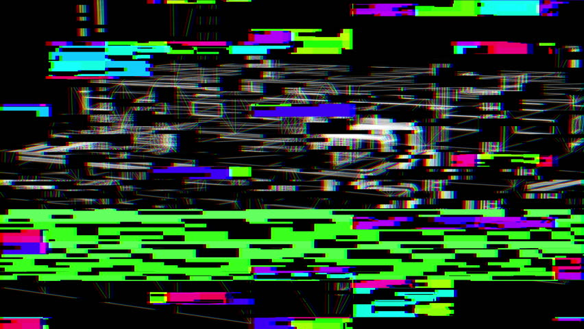 Glitch Effect Bad TV  | Shutterstock HD Video #27966535