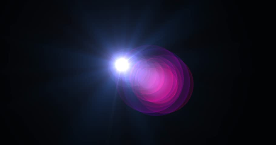 lens flare for video and cinema  #27971632