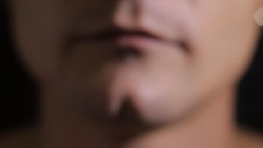 Electric Brushing Teeth closeup | Shutterstock HD Video #2800129
